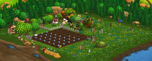 Spring Showers - FarmVille 2