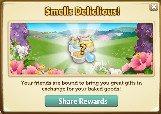 Bake Sale - Share Rewards