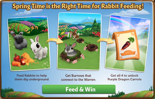 Rabbit Burrow - FarmVille 2