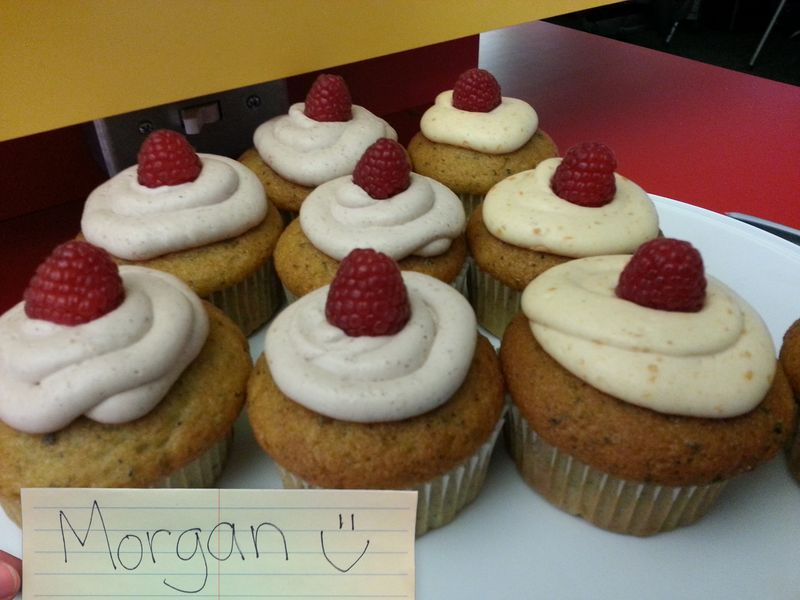 Mock cupcake entry