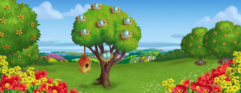 Nesting Tree Fan Page