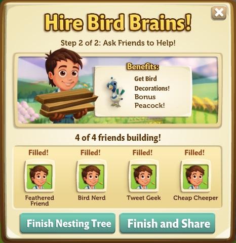 Nesting Tree Builders 2