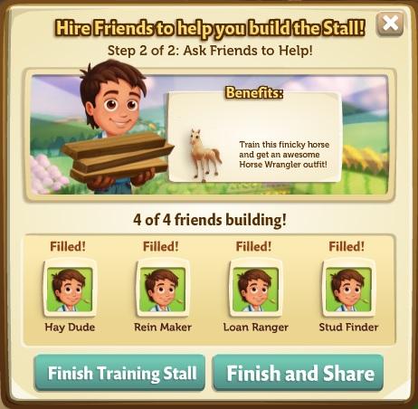 Horse Training Building 2