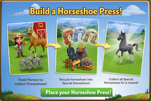 Horseshoe Press - FarmVille 2