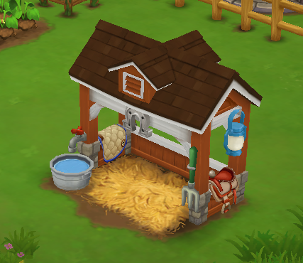 Deluxe Shady Trough - FarmVille 2