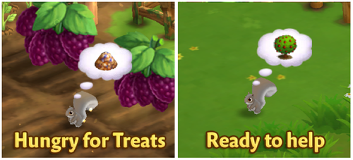 Squirrel Tree - FarmVille 2