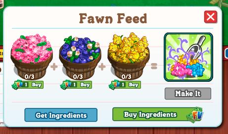 Fawn Feed