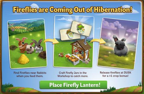 Firefly Lantern - FarmVille 2