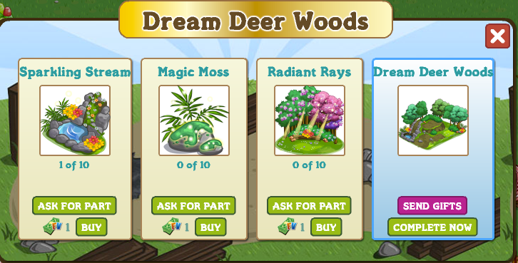 Dream Deer Parts