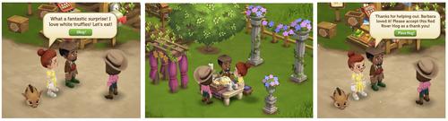 Romantic Outdoor Dinner - FarmVille 2