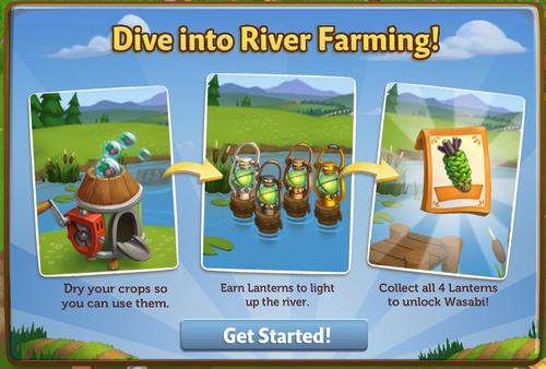 Dive into River Farming - FarmVille 2