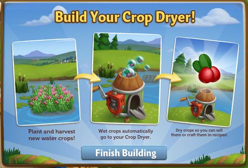 Crop Dryer - FarmVille 2