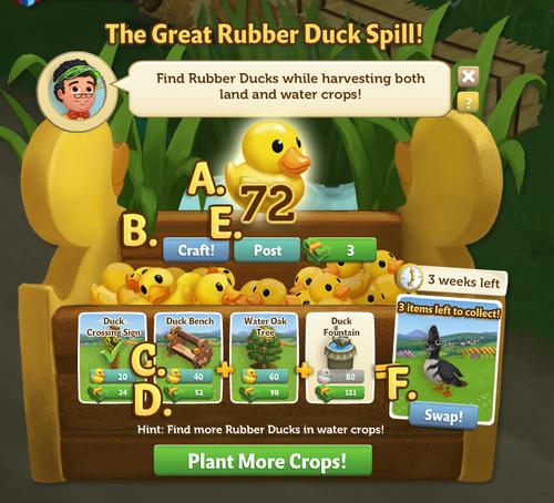 The Great Rubber Duck Spill - FarmVille 2