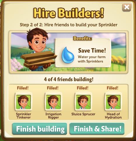 Sprinklers - Finish