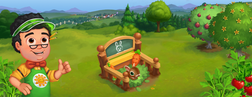 Rabbit Nursery - FarmVille 2