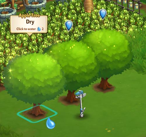 Standard Sprinkler - FarmVille 2