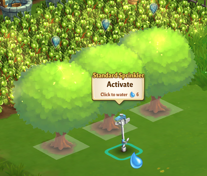 Standard Sprinkler - Manually Clicking Mode