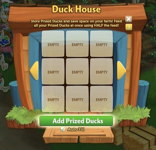 Duck House - FarmVille 2