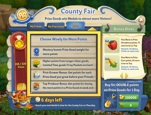 County Fair - Rules NEW