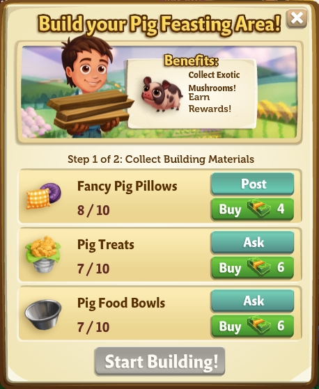 The Fussy Teacup Pig - FarmVille 2