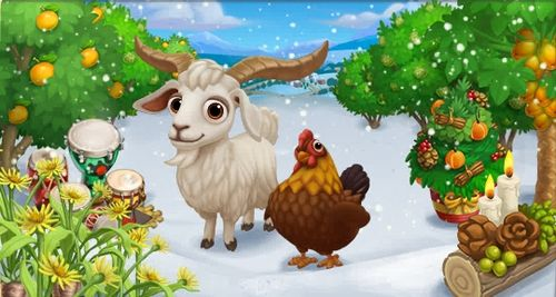 Holiday Traditions - FarmVille 2