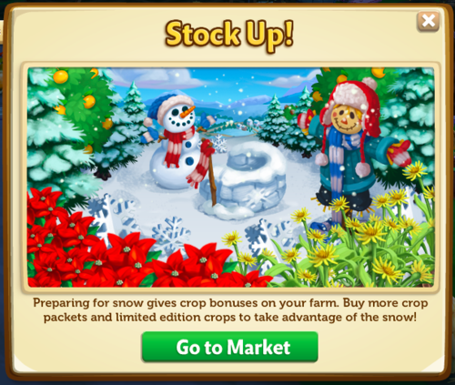 Snow - FarmVille 2