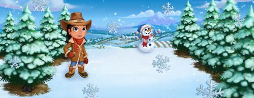 Snow - FarmVille 2