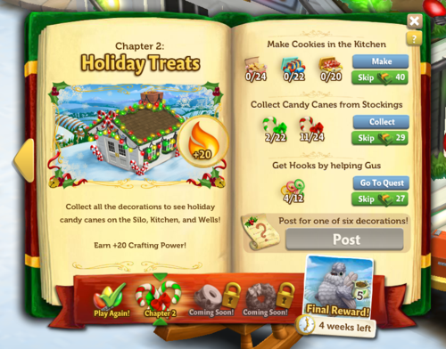 Holiday Book - FarmVille 2