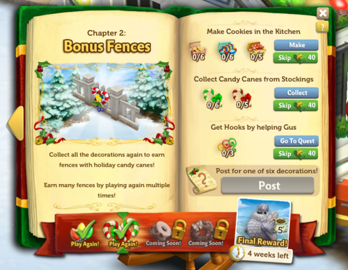 Holiday Book - Stage 2 - FarmVille 2