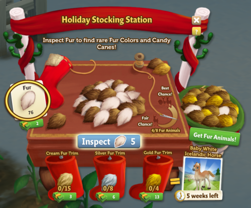 Holiday Stocking Station - FarmVille 2