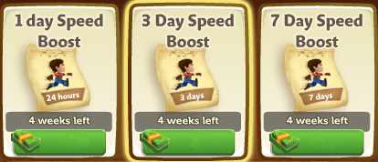 Speed Boosts - FarmVille 2