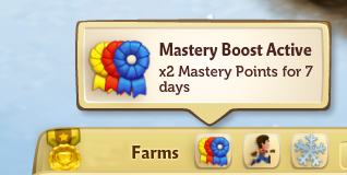 Mastery Boost - FarmVille 2