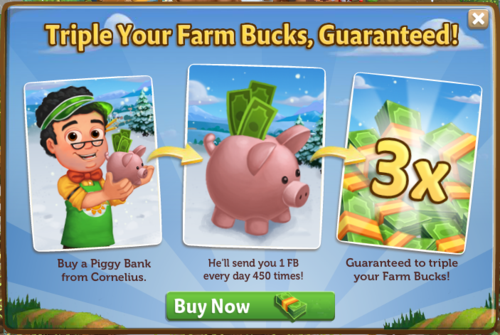 Piggy Bank - FarmVille 2