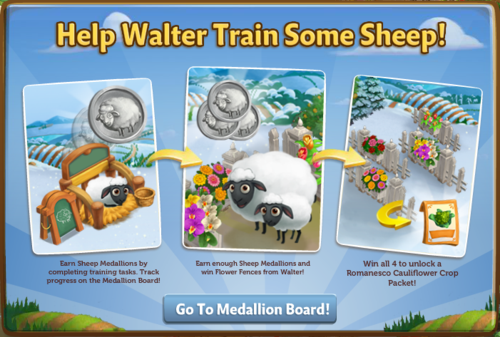 Medallion Board - FarmVille 2