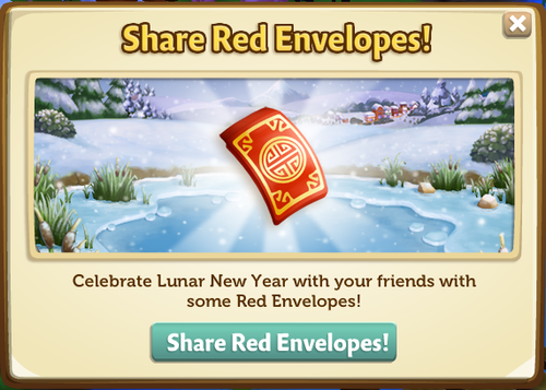 012 Share Red Envelopes