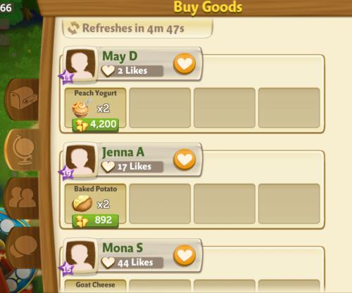 buy goods