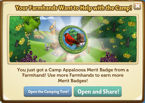 Camp Apaloosa Merit Badges