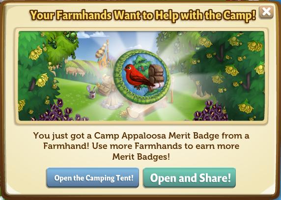 Camp Apaloosa Merit Badges