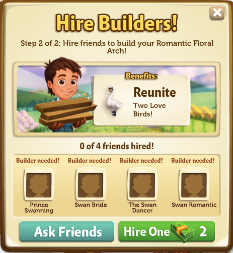 005 Hire Builders Menu