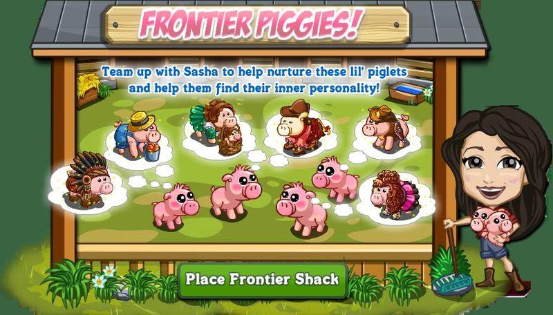 Frontier Piggies Pop Up