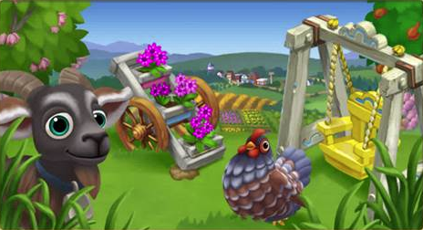 Check out those Red Stemmed Thalias - FarmVille 2