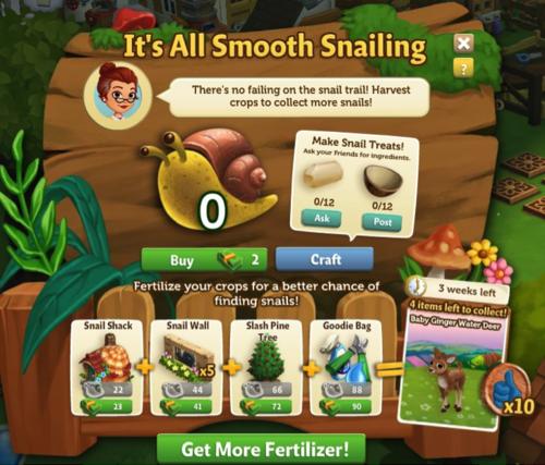 Snail Garden - FarmVille 2