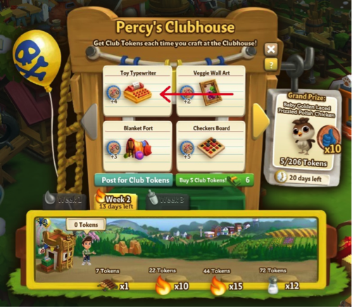 Percy's Clubhouse - FarmVille 2