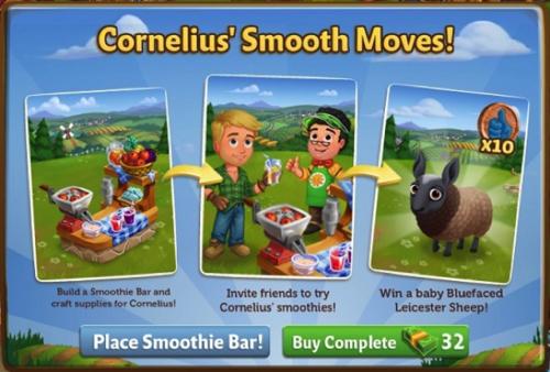 Smoothie Bar - FarmVille 2