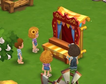 Puppet Show - FarmVille 2