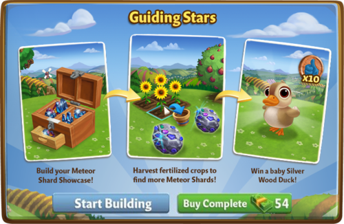Meteor Shard Showcase - FarmVille 2