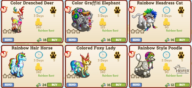 Animals1 Rainbow Burst