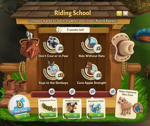 Riding School 5