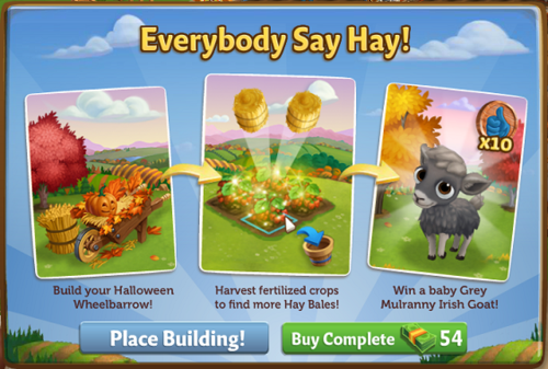 Halloween Wheelbarrow - FarmVille 2