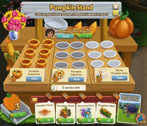 Pumpkin Stand - FarmVille 2